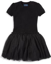 Ralph Lauren - Little Girl's Tulle Jumper Dress - Lyst