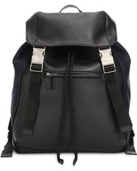 Saks Fifth Avenue - Mixed Media Backpack - Lyst