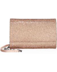 Judith Leiber - Fizzoni Embellished Box Shoulder Bag - Lyst