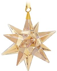 Swarovski - Star Ornament, Golden Shadow - Lyst