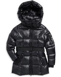 Sam. - Girl's Soho Belted Down Puffer Jacket - Lyst