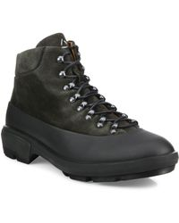 Aquatalia - Murphy Lace-up Suede Boots - Lyst