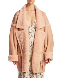 Zimmermann - Riot Oversized Leather Jacket - Lyst