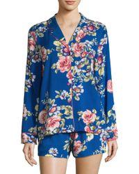 In Bloom - Floral Shortie Pyjamas - Lyst