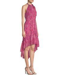 Elie Tahari - Primrose Silk High-low Dress - Lyst