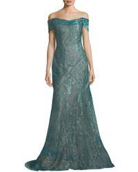 Rene Ruiz - Off-the-shoulder Gown - Lyst