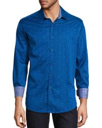 Robert Graham - Cullen Cotton Button-down Shirt - Lyst