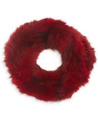 Saks Fifth Avenue Sable Fur Knit Headband