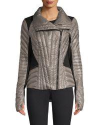 BLANC NOIR - Motion Panel Puffer Jacket - Lyst