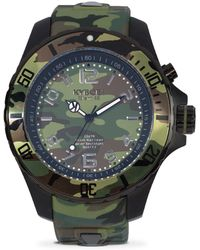Kyboe | Stainless Steel Camo Strap Watch | Lyst
