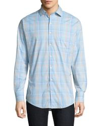 Peter Millar - Wallace Performance Plaid Button-down Shirt - Lyst