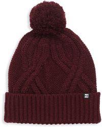 Block Headwear - Large Cable Cuff Beanie - Lyst