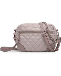 MZ Wallace - Small Quilted Crossbody Bag - Lyst
