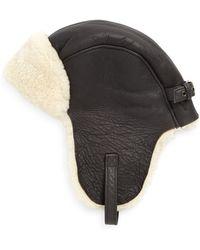 Crown Cap - Shearling Aviator Hat - Lyst