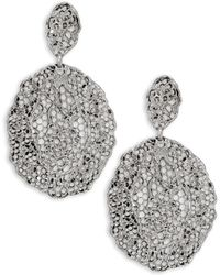 Aurelie Bidermann | Vintage Lace Drop Earrings | Lyst