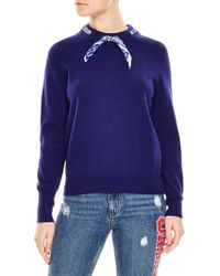 Sandro - Lucke Wool & Cashmere Sweater - Lyst