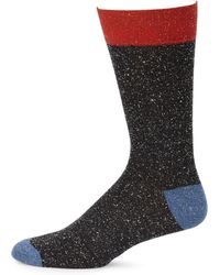 Saks Fifth Avenue - Collection Melange Textured Casual Socks - Lyst