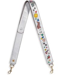 Anya Hindmarch - Graphic Leather Shoulder Strap - Lyst
