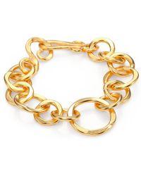 Stephanie Kantis - Coronation Large Chain Link Bracelet - Lyst