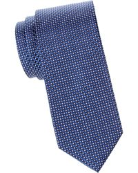 Eton of Sweden - Micro-dot Silk Tie - Lyst