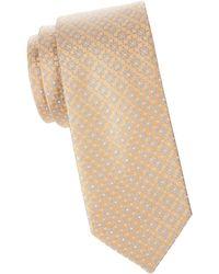 Eton of Sweden - Floral Medallion Silk Tie - Lyst