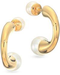 Chloé - Boxed Darcey Swarovski Pearl Earrings - Lyst