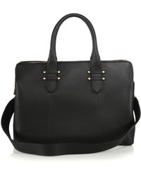 Gigi New York - Parker Pebbled Leather Satchel - Lyst