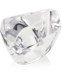 Alexis Bittar | Large Faceted Lucite Cocktail Ring | Lyst
