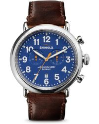 Shinola - The Runwell Chronograph Watch - Lyst