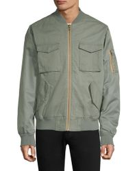 Wesc - Contrast Two-tone Bomber Jacket - Lyst