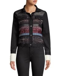 Ramy Brook - Landon Tweed Denim Jacket - Lyst