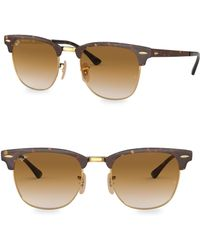 Ray-Ban - Iconic Clubmaster Sunglasses - Lyst