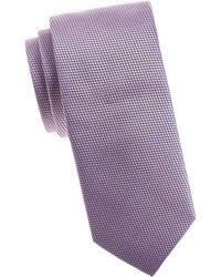 Eton of Sweden - Micro Dot Silk Tie - Lyst