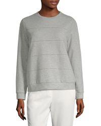 Peserico - Cotton Crewneck Sweatshirt - Lyst