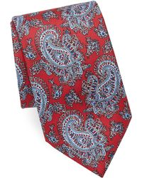 Brioni - Outlined Paisley Print Tie - Lyst