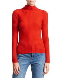 A.L.C. - Lamont Fitted Wool Turtleneck Sweater - Lyst
