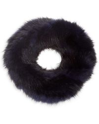 Saks Fifth Avenue Dyed Knitted Sable Headband