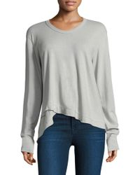 Wilt | Slouchy Cotton Pullover | Lyst