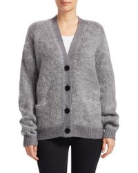 Acne Studios - Rives Mohair Cardigan - Lyst