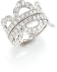 Hearts On Fire - Lorelei Diamond & 18k White Gold Ring - Lyst