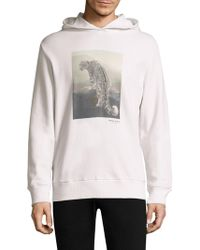 Ovadia And Sons - ??now Leopard Hooded Sweatshirt - Lyst