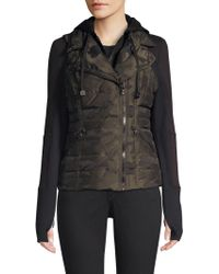 BLANC NOIR - Three-in-one Packable Camo Jacket - Lyst