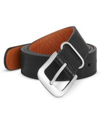 Shinola - Tumbled Leather Belt - Lyst