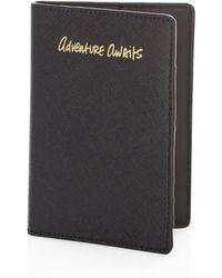 Rebecca Minkoff - Adventure Awaits Leather Passport Case - Lyst