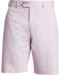 Saks Fifth Avenue - Collection Solid Seersucker Shorts - Lyst