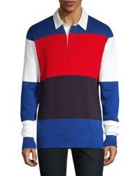 Tommy Hilfiger - Regular-fit Stripe Rugby Shirt - Lyst