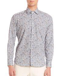 Etro - Paisley Long Sleeve Shirt - Lyst