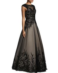 Basix Black Label | Embroidered Ball Gown | Lyst