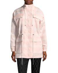St. John - Textured Jacquard Jacket - Lyst