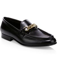 Burberry - The Leather Link Loafer - Lyst